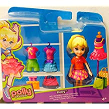Polly Pocket Polly Doll with clothes and bag CGJ01 by Polly Pocket