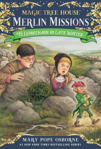 Leprechaun in Late Winter [With Sticker(s)] (Merlin Missions (Paperback))