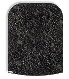 Stone4Slide® Thermomix Gleitbrett Gleiter aus Granit Steel Grey