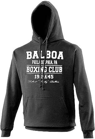 Balboa Boxing Club Black Training Premium Hoodie Film Rocky