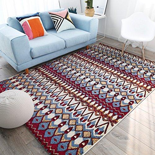 RUG LUYIASI- Moderner Wohnzimmer-Zusammenfassungs-Bereichs-Wolldecken-Haushalts-Wirtschafts-Teppich Non-Slip mat (Farbe : B, größe : 200x280cm) - Wirtschaft Greifer