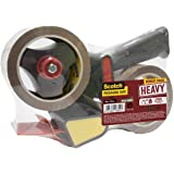 Scotch BP974 Heavy Packing Tape dispenser met 2 rollen, 50 mm x 66