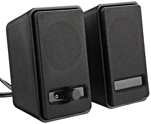 AmazonBasics A100 USB-Powered Computer Speakers