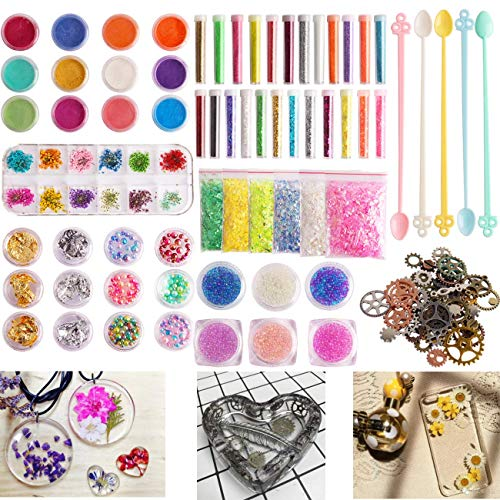 Colle 114 Pieces Resin Jewelry M...