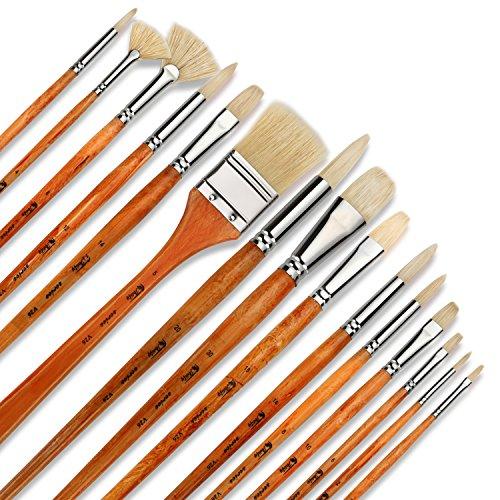 artify-set-di-15-pennelli-da-pittura-professionali-da-artista-perfetti-per-la-pittura-a-olio-con-un-