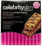 Celebrity Slim Sticky Toffee Snack Bar 5 pack