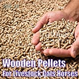 2you Animal Bedding Pellets Wood Pine 15kg Bag For Small Large Livestock Horses Rabbits Pets, Cat Litter