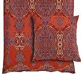 Bassetti Bettwäsche - Moreta V1 - Größe: 135 x 200 cm - Farbe: Rot