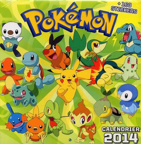 CALENDRIER POKEMON 2014