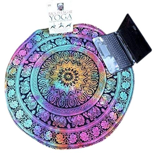 overmal-round-hippie-tapestry-beach-throw-towel-yoga-mat-bohemian-feature-multicolor-8