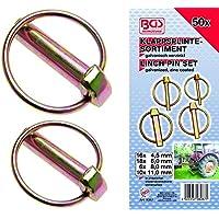 Bgs BGS-8087-8087 surtido klappsplinten, 50 piezas