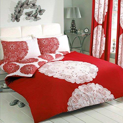 Just-Contempo-Copripiumino-trapuntato-in-policotone-set-di-biancheria-da-letto-in-stile-moderno-a-righe-e-fiori