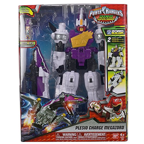 Giochi Preziosi Power Ranger Robot Megazor Dino Super Charger avec transformation