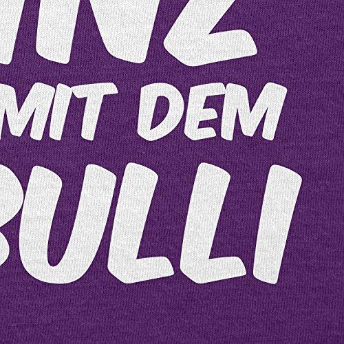 TEXLAB - Ein echter Prinz kommt mit dem T3 Bulli - Herren T-Shirt Violett