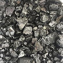 eislebener Ornamentales de jubileo Grava 16/45mm, Negro/Antracita redondeados, decoración para casa y jardín, 3kg