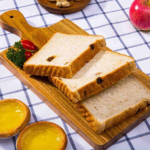Vintage Baking Board Schneidebrett Massivholz Frucht Schneidebrett Brot Pizza Teller Tablett Lebensmittel Fotografie Stützen (Size : Rectangle) (Lebensmittel-speicher-kabinett)