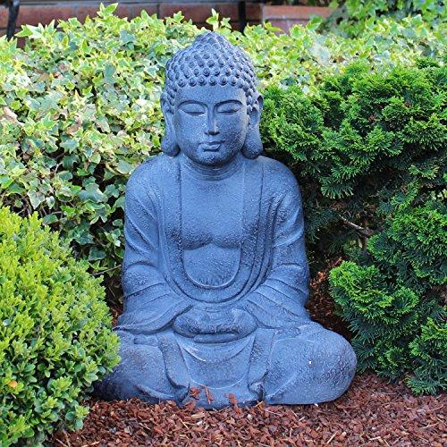 Betender Buddha-Figur sitzend 50 cm groß