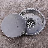 Round Invisible Bodenablauf Dusche WC mit Fliesen Embedded Drain Filter