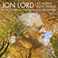 Jon Lord-to Notice Such Things