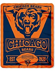 Chicago Bears 50X60 Fleece Blanket - Marque Design