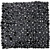 Wenko 20275100 Paradise Tapis Douche Noir Dimensions 54 x 54 cm