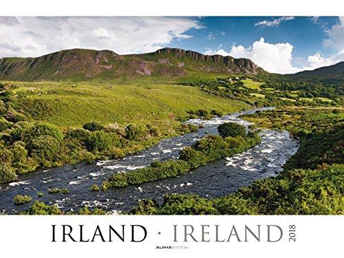 Wall Calendar Ireland 201868x 48cm