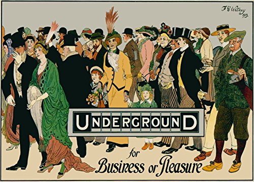 world-of-art-london-underground-c1913-cartolina-illustrata-formato-a3-250-g-mq-riproduzione-poster-s