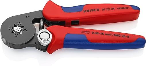 Knipex 97 53 04 – Selbsteinstellende Crimpzange für Aderendhülsen