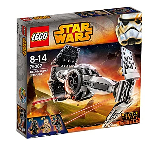 LEGO Star Wars 75082 - Tie Advanced Prototype (Lego Star Wars A Wing)