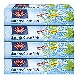 Albal 15sacchetti ghiaccio tritato, chiusura automatica, pellicola pelable, strippaggio facile, circa 65Cubi per bustina, Set di 4