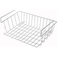 Povanjer sous-étagère Panier De Rangement - Table Suspendue Panier Métal Panier Réfrigérateur Panier De Rangement De…