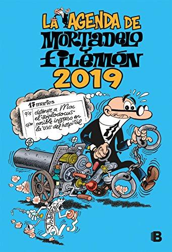 La agenda de Mortadelo y Filemón 2019 (Varios)