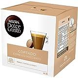 NESCAFÉ Dolce Gusto Cortado Espresso Macchiato Coffee, 30 Capsules (Pack of 3, Total 90 Capsules, 90 Servings)