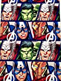 Marvel Avengers Hulk, Thor, Iron-Man, Captain America