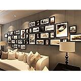 ArtzFolio Wall Photo Frame D185 Black 4x6-21pc;6x10-16pc;8x10-4pc;Set of 41 PCS