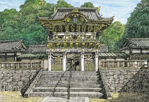 450 Meister der kleinen Stück Puzzle Keiji Yoshida Toshogu (26x38cm) (450 Stück Puzzles)