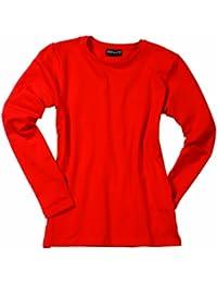 James & Nicholson Damen T-Shirt Langarm T-Shirt Tangy