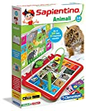 Sapientino Clementoni – 13525 Parlante interactive game [Italian Version] Animals