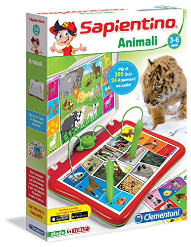 Sapientino Clementoni - 13525 Parlante interactive game [Italian Version] Animals