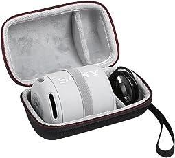 Shucase Tasche für Sony XB10,Hart Reise Schutz Hülle für Sony SRS-XB10 Tragbarer, kabelloser Lautsprecher Schwarz