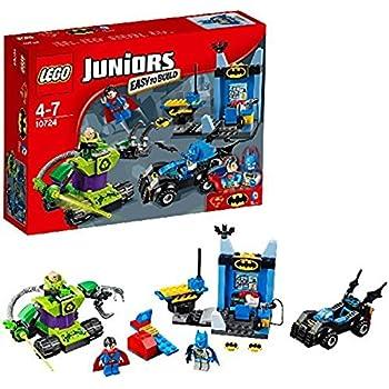 LEGO 10724 Juniors Batman and Superman Vs Lex Luthor Superhero Toy