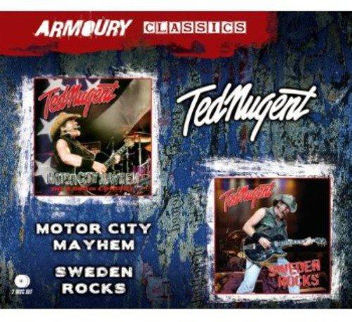 Motor City Mayhem+Sweden Rocks (2cd) Doppel-motor