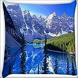 Weiß Big Berge Home Decor Werfen Sofa Auto Kissenbezug Kissen Fall 50,8x 50,8cm