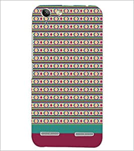 PrintDhaba Tribal pattern D-1887 Back Case Cover for LENOVO LEMON 3 (Multi-Coloured)