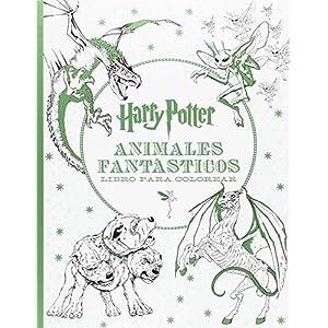 Harry Potter. Animales fantásticos. Libro para colorear (HARRY POTTER LIBROS PARA COLOREAR) 7