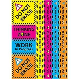 Ashley Productions ASH77023 Magnetic Caution Do Not Erase Set, 8 Pieces
