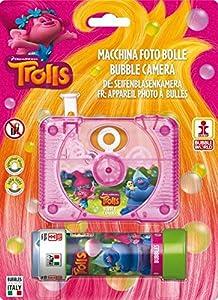 Dulcop-500.143500-Los Trolls-Cámara de Burbuja-10,4x 9,5x 2,9cm-Tubo de jabón-60ml