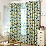 Imported Modern Triangle Window Curtain ...