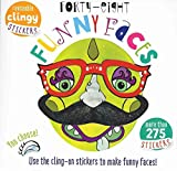 [(Forty Eight Funny Faces : Use the Cling-On Stickers to Make Funny Faces!)] [By (author) Elizabeth Golding ] published on (March, 2015)