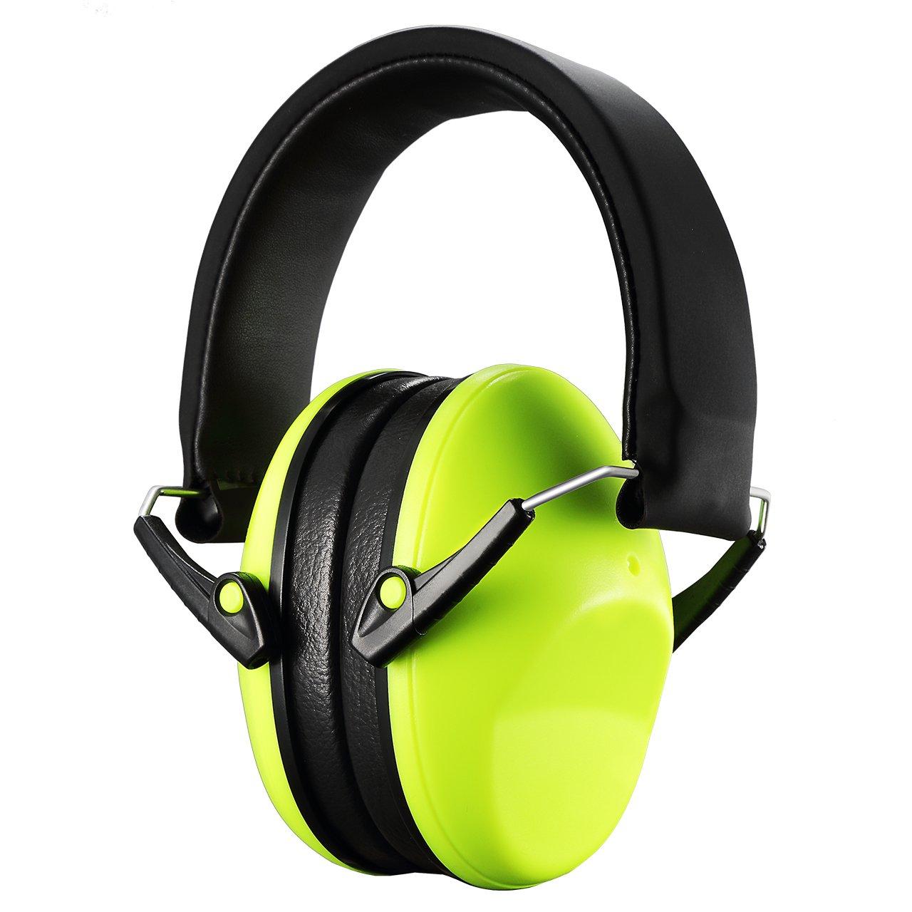 Homitt Ohrenschützer Gehörschutz Ear Muffs Headband Ohrenschutz Anti-lärm für Kinder